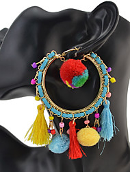 Women's Drop Earrings Basic Unique Design Tassel Geometric Friendship Gothic Movie Jewelry Luxury Durable Statement Jewelry Sexy USA