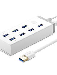 Ugreen 30303 20296 хаб usb3.0 супер скорость 5,0 Гбит / с 7 портов питания с питанием 1 м кабель