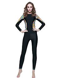 New Korean Diving Suit Female Outdoor Water Slide Split Long - Sleeved Diving Suit Women 's Surfing Clothing Sunscreen 924