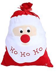 Produtos de natal saco de presente de natal pleuche grande bolsa de presente de Papai Noel saco de Papai Noel de volta