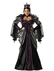 Costumes de Cosplay Bal Masqué Costume de Soirée Sorcier/Sorcière Cosplay Fête / Célébration Déguisement d'Halloween Noir Autres Rétro