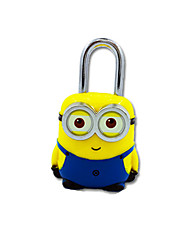 JY-80060 ABS Material Password Padlock 3 Digit Password Mini Lock Yellow Boxer Lock Lock Anti-Theft Travel Cabinet Dail Lock Password Lock