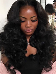 New Style Wave Human Hair Wig High Quality 100% Brazilian Human Hair Lace Front Wigs With Baby Hair For Beautiful Woman