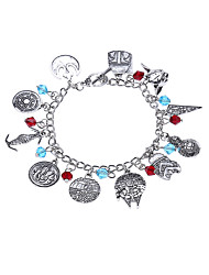 Lureme® Women's Charm Bracelet Jewelry Natural Friendship Gothic Movie Jewelry Bohemian Hip-Hop Alloy Round Jewelry ForBirthday Party/ Evening
