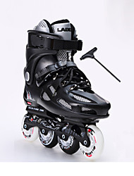 Flash Skates Adult Straight Round Skates Men And Women Floral Roller Skates College Students Single Row Beginners Skates