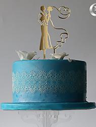 Украшения для торта Классическая пара Пластмассовая сумка