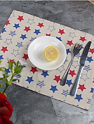 Others Print Table cloths , Cotton Blend Material Table Decoration 1