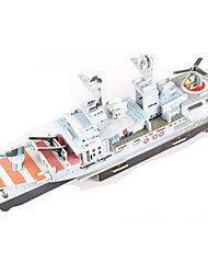 Jigsaw Puzzles DIY KIT 3D Puzzles Building Blocks DIY Toys Warship Aircraft Carrier Ship High Quality Paper