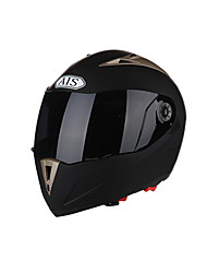 AIS  R1-802-2Motorcycle Helmet With Bluetooth Male Helmet Double Lens Half Full Cover Headphones Summer Can Not Be Exposed Helmet With Black Mist Lens