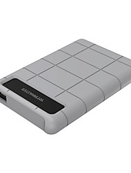 YottaMaster E1-C3 2.5 Inch Type-C HDD SSD Enclosure SATA3 Gray