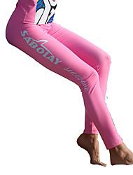 Femme La navigation de plaisance Résistant aux ultraviolets Elasthanne Térylène Tactel Tenue de plongéeTee-shirts anti-UV, tops