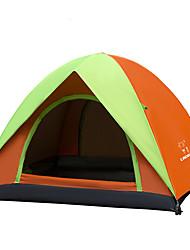 LINGNIU® 3-4 Pessoas Tenda Cabana de Praia Duplo Barraca de acampamento Tenda Automática Prova-de-Água Térmico/Quente Resistente Raios