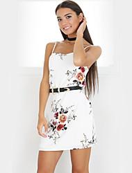 Women's Going out Casual/Daily Simple Cute Sheath Dress,Floral Strapless Maxi Sleeveless Milk Fiber Summer High Rise Micro-elastic Thin