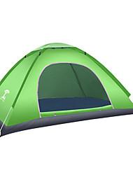 2 человека Световой тент Палатка Автоматический тент Теплый Водонепроницаемость для См Оксфорд