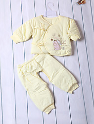 Baby Children's New Baby Casual/Daily Baby Shower Solid Color Clothing Set,Lace All Seasons