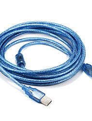 USB 2.0 Cable, USB 2.0 to USB Type B Cable Male - Male 5.0m(16Ft)