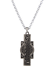 Lureme Vintage Jewelry Game Of Thrones Memento Geometry Pendant Necklace