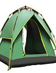 CAMEL 3-4 человека Световой тент Двойная Палатка Автоматический тент Хорошая вентиляция Водонепроницаемость Дожденепроницаемый Защита от