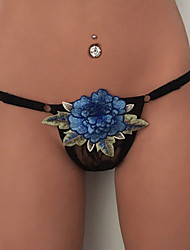 Women's Sexy Lace Solid G-strings & Thongs Panties Briefs  Underwear