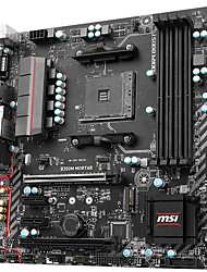 msi b350m mortar motherboard amd b350 / socket am4