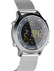 hhy ex18 стальной ремень интеллектуальное наблюдение сообщение сообщение профессиональный секундомер 50 метров водонепроницаемые часы