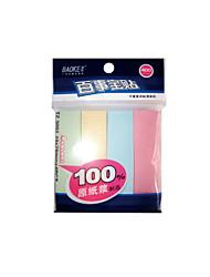 Nota adesiva de 4 cores