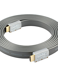 HDMI 2.0 Cable, HDMI 2.0 to HDMI 2.0 Cable Macho - Macho 5,0 m (16 pies)