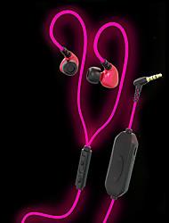 Jiefangzhe q10 brillant dans les écouteurs foncés brillant et brillant version avec manche de sport