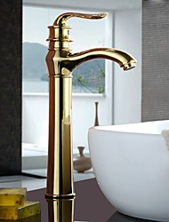 Classic Style Centerset High Quality with  Single Handle One Hole for  Ti-PVD  Bathroom Basin Sink Faucet