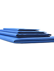Dog Bed Pet Mats & Pads Solid Portable Foldable Light Blue