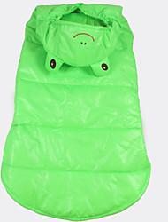 Chien Costume Vêtements pour Chien Cosplay Animal Vert
