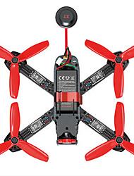 Drone Furious215 Canal 4 Com Câmera HD Iluminação De LED Com Câmera Quadcóptero RC Controle Remoto Câmera Cabo USB 1 Bateria Por Drone
