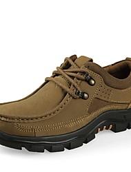 Для мужчин Спортивная обувь Удобная обувь Обувь для дайвинга Осень Зима Натуральная кожа Нубук Наппа Leather Кожа Для пешеходного туризма