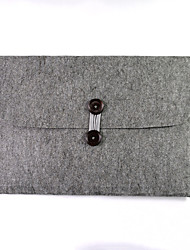 Bolsos del gabinete del cuaderno del ordenador portátil de la sensación de las lanas para la manzana 15.4 pulgadas macbook