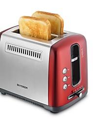 Máquinas de Pan Tostadora Utensilios de cocina innovadores 220 VLuz Indicadora de Encendido Peso ligero Baja vibración Múltiples