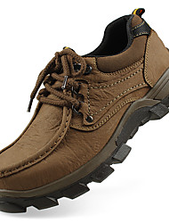 Для мужчин Спортивная обувь Удобная обувь Осень Зима Натуральная кожа Нубук Наппа Leather Кожа Для пешеходного туризмаАтлетический