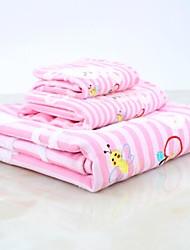Wash Cloth,Stripe High Quality 100% Cotton Towel