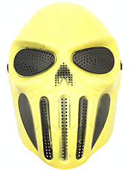 Хэллоуин креативный череп страшный призрак маска wargame главный тактический cs косплей камуфляж скелет мужчина маска карнавал маскарад