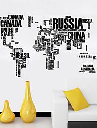 История Наклейки Простые наклейки Декоративные наклейки на стены,Винил материал Украшение дома Наклейка на стену
