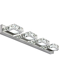 12W Bathroom Vanity Light LED Crystal Make Up Mirror Light 4-lights Bathroom Bedroom Lighting