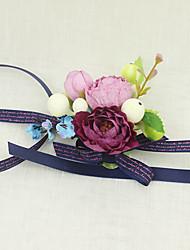 """Fleurs de mariage Petit bouquet de fleurs au poignet Cérémonie de mariage Occasion spéciale 2.36""""(Env.6cm)"""