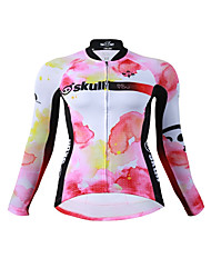 Cycling Jersey Women's Long Sleeves Bike Jersey Fast Dry Quick Dry YKK Zipper High Elasticity Stretchy Polyester Fashion Spring/Fall