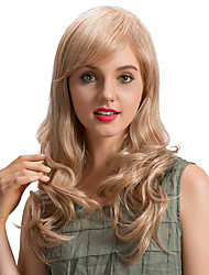 Fresh Romantic Long Wave  Human Hair Wigs