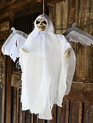 Décorations de Halloween fantômes brillants avec des ailes volantes fantômes