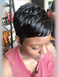 Pelucas pequeñas del pelo humano del negro de la prevalencia pequeña fresca