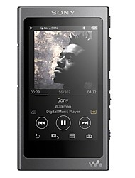 SONY Hi FiPlayer32GB Jack 3.5 mm Cartão Micro SD 128GBdigital music playerTátil