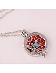 Жен. Ожерелья с подвесками Стразы Медальон В форме листа Сплав Мода Бижутерия Назначение Свадьба Для вечеринок День рождения Повседневные
