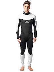 MYLEDI Men's 3mm Full Wetsuit Waterproof Thermal / Warm Wearable YKK Zipper Neoprene Diving Suit Diving Suits-Swimming DivingSpring
