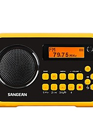 Italker Rádio portátil Radio FM Alto Falante Embutido Cartão SD