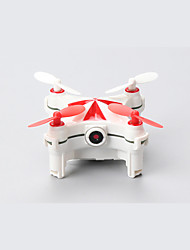 Drone CX-OF 4 Channel With 0.3MP HD Camera LED Lighting One Key To Auto-Return 360°Rolling Access Real-Time Footage Hover With CameraRC